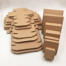 gold eyelash packaging box wholesale custom kraft paper sleeve box packaging