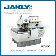 Precio de la máquina de coser de JK747F Direct Drive Super High Speed Four Thread overlock