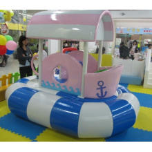 Electric Indoor Playground Child Inflatable Toys Trampoline