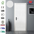JHK-F01  Polish Pressed Solid Wooden Frame Interior Door