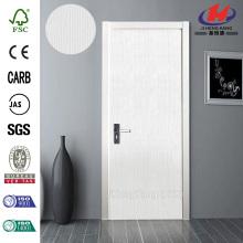 JHK-F01  Polish Pressed Solid Wooden Frame Interior Door