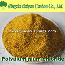 Chlorure blanc / jaune de polyaluminium de poudre pour le traitement de l'eau