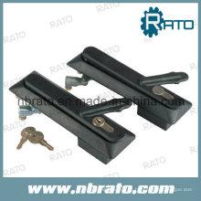 Cerradura de la manija del oscilación del negro cubierta para el caso electrónico