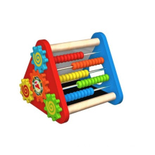 New Fashion Multi-Function Wooden Triangle Rack Toy for Kids and Children