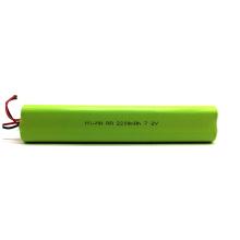 PKCELL A 2200mah Batería recargable nimh con 3.6v