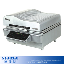 Máquina de impresión de la transferencia de calor de la sublimación 3D de la caja del teléfono de la taza de cerámica