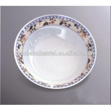Продовольственная безопасность Фарфор Bowl с цвет пульсации для домашнего использования
