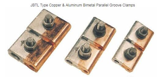 JBTL Copper & Aluminum Bimetal Parallel Groove Clamp