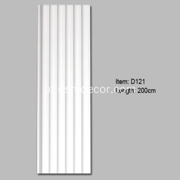Best Selling PU Fluted Pilaster Coluna
