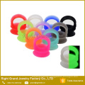 Flexible Glow In The Dark Thin-Walled Silicone Ear Plugs Double Flared Expander Piercings