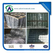 Arame farpado galvanizado e galvanizado mergulhado quente de aço inoxidável