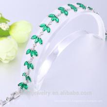 bracelet de mariage en zircone cubique bijoux en or coréen
