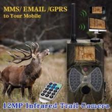 SMS Controle MMS GPRS Infravermelho 12mp 1080 HD Game Camera China com Controle Remoto Necessitando AA Bateria