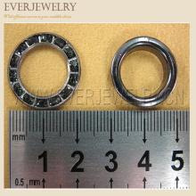 22 millimetri grandi occhi rotondi in ottone del metallo del metallo per i jeans
