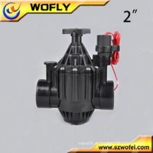 Industrielle Abschaltung 12VDC 2 Zoll Wasser Magnetventil für die Bewässerung