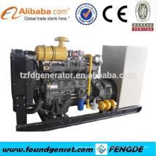 8 cilindros TBG236V8 160KW sin combustible generador de gas GLP eléctrico
