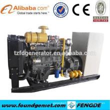 8 cyliner TBG236V8 160KW no fuel lpg gas electric generator