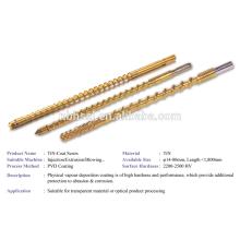 injection machine PVD TIN coat screw
