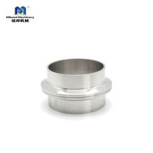 Sanitary Stainless Steel 304/ 316L Weld On Tri Clover Ferrule Manufacturer