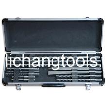 Jeu de forets 11PCS avec boîte en aluminium de couleur (LCSDS1101)