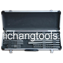 11PCS Drill Bit Set with Colour Aluminum Box (LCSDS1101)