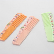 Plastic Combs with Half Narrow Half Wide 21*3.1cm