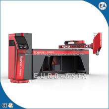Máquina automática para fabricar juntas de espuma de poliuretano