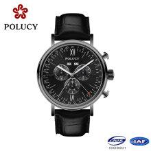 Ronda Movt Men′s Chronograph wasserdichte Armbanduhr für 5ATM