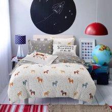 100% Cotton Pigment Priment Bedding Set
