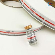 Étiquette cosmétique d'huile essentielle perlée-lustre auto-adhésive imprimée par couleur