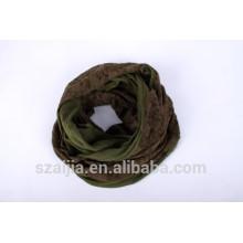 Nueva bufanda viscosa del cordón de la bufanda del infinito de la inserción del cordón