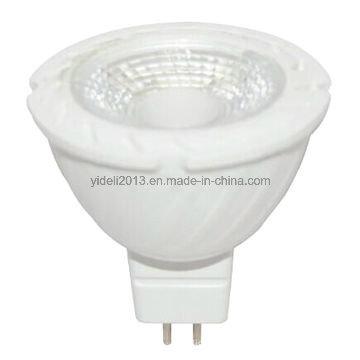 LED Spotlight MR16 5W 430lm 12V AC 38degree Made of PA China Factory