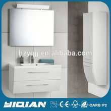 Euro Hot Design Montado em parede White High End Mirror Vanité de banheiro usado