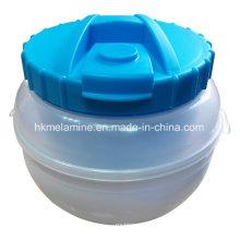 Caixa de almoço de plástico com colher (bw260)
