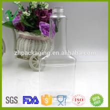 Embalaje químico botellas claras 350ml para el aceite del motor con el casquillo de la prueba del niño