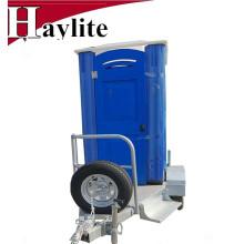 Alta qualidade portátil porta potty aço trailer para aluguel