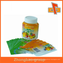 Customized soft PVC heat shrink sleeves label for plastic bottle printing and packaging