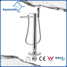 Unique Water Saving Solid Brass Floor Mount Stand Shower Faucets