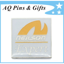 Metal Pin Badge with Soft Enamel as Promotional Gift (badge-164)