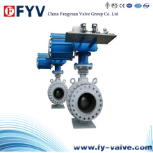 API 6D Floating Ball Valve with Pneumatic Actuator