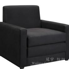 Tela da cobertura do sofá Tela 100% da camurça do couro do poliéster