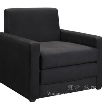 Tissu de couverture de sofa 100% Polyester Leather Suede Fabric