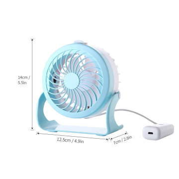 Multifuncional USB Mini recarregável Handy Personal Fan