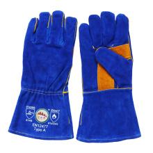 Gants de soudure pour la sécurité du travail industriel en cuir