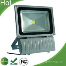 100W LED Flood Bridgelux légers copeaux AC85-265V 2 ans de garantie