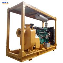 Dieselmotor selbstansaugende Abwasserpumpe Wasserpumpe
