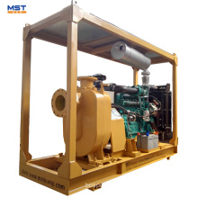 Diesel engine self priming sewage pump water pump