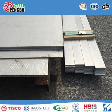 Folha de aço inoxidável 201 304 316L 430 410 com GV