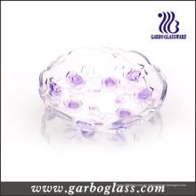 Placa de vidrio de color con diseño de flores (GB1708MG-1 / PDS1)