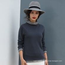 2017 New Style Lady′s 100% Cashmere Pullover for Wholesale